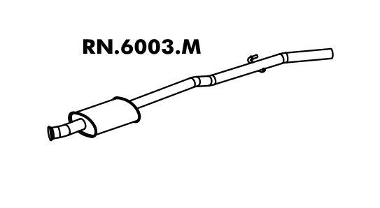 Silencioso Clio 1.6 8V Hatch 95 A 98 Intermediario