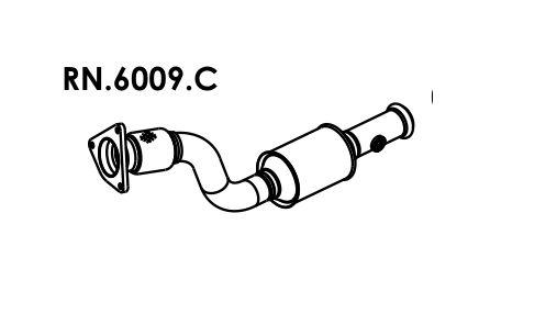 Catalisador Clio 1.6 16V Hatch / Sedan 99 A 2008