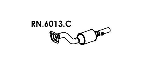 Catalisador Duster 1.6 16V / 2.0 16V 4X2 2012 Em Diante