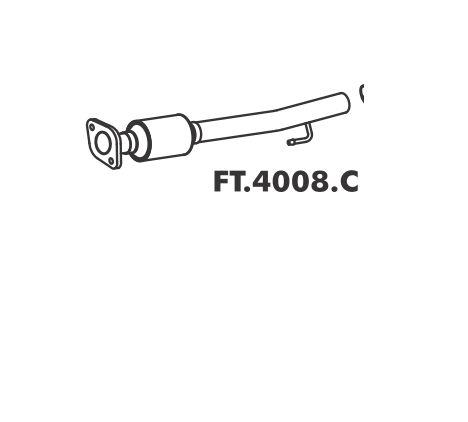Catalisador Doblo Cargo 1.6 Mpi 16V Gs 2002 / 2003