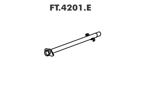 Tubo Escapamento Fiorino 1.0 / 1.5 Ie 94 Até 96
