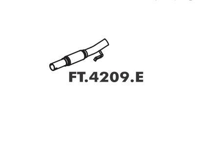 Tubo Flexivel Escapamento Fiorino Fire 1.3 8V 2003 A 2013