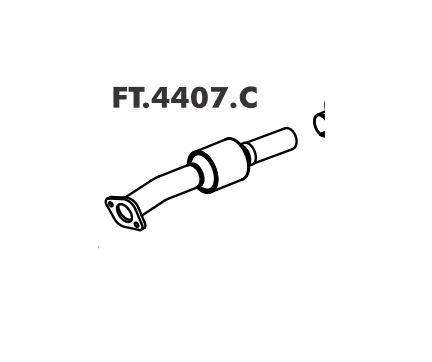 Catalisador Palio 1.0 Ed / Edx / Ex 3P / 5P 96 A 2001