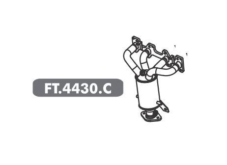 Catalisador Palio 1.0 8V Fire Economy 2009 A 2017