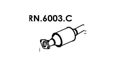 Catalisador Mégane 1.6 8V / 1.6 16V / 2.0 8V / 2.0 16V