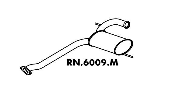 Silencioso Renault Rt 19 1.8 Sedan/ Hatch 4P 94 A 98 8V ? Rn 19 1.6 Hatch 2/4 P 94 A 98 8V