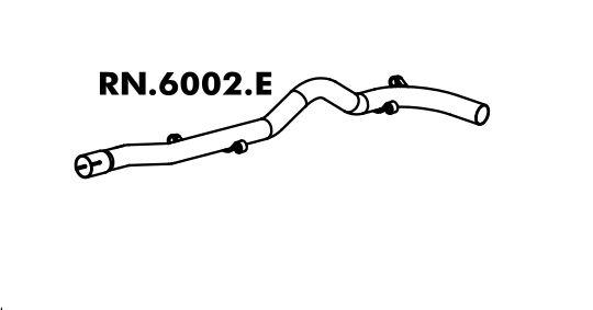 Tubo Do Escapamento Traffic 97 A 2014
