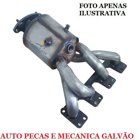 Catalisador Fit 1.4 / 1.5 16V 2009 A 2014 Gii Primário C/ Sonda 1.4
