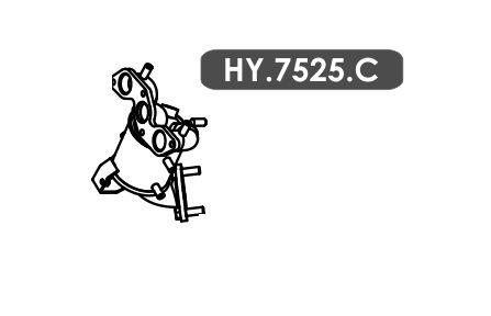 Catalisador  Hb20 1.0 3 Cil. Hatch / Sedan 2012 A 2014
