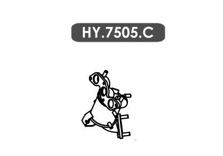 Catalisador Hb20 1.0 3 Cil. Hatch / Sedan 2015 Em Diante