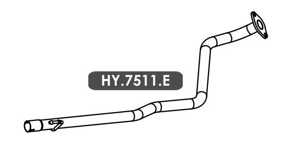 Tubo Escapamento Hb20 1.0 3 Cil. Hatch / Sedan 2015 Em Diante