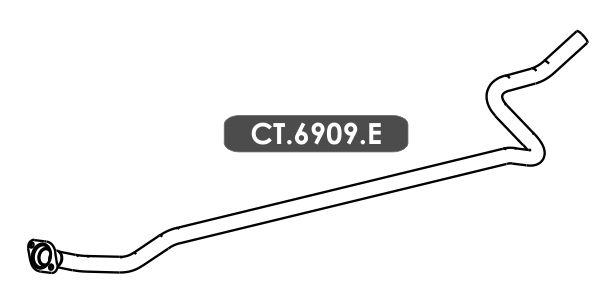 Cano Saida Do Motor C3 1.5 / 1.6 16V Gii 2012 Em Diante