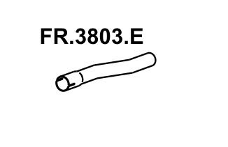 Cano Do Escapamento F1000 / F2000 80 A 92