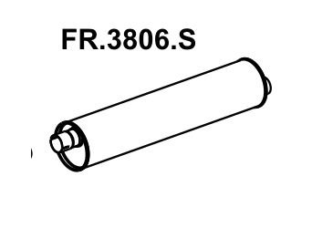 Silencioso F1000 / F2000 80 A 92