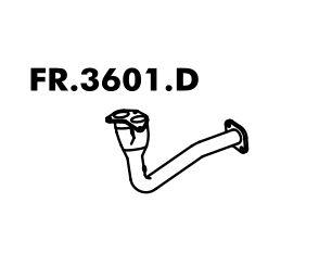 Cano Saida Do Motor Fiesta 1.3 95 Até 96 Importado