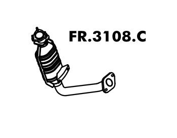 Catalisador Focus Hatch / Sedan 1.8 16V / 2.0 16V 2000 A 2008