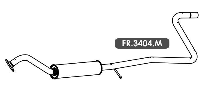 Silencioso Ka 1.0 3 Cil. Hatch / Sedan 2014 Em Diante Intermediario