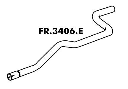 Tubo Escapamento Ka 1.0 / 1.3 97 Até 07/99 Motor Endura