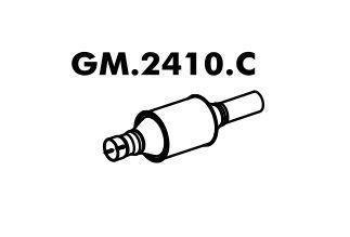 Catalisador Astra 1.8 8V 98... / 2.0 8V 98 A 2000 Gasolina / Álcool