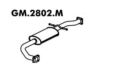Silencioso Blazer 2.2 95 A 97 Intermediario