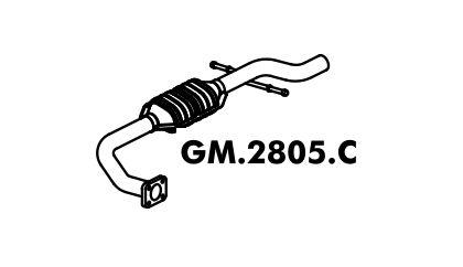 Catalisador Blazer 2.2 / 2.4 Gasolina 12/99 A 2007