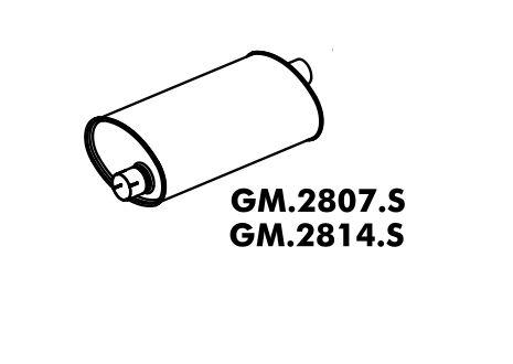 Silencioso Bonanza Diesel 92 Em Diante Original