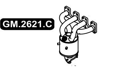 Catalisador Celta 1.0 8V 06/2011 A 2012 Opcional