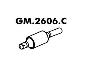 Catalisador Celta 1.0 8V Até 07/2005