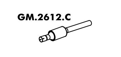 Catalisador Celta 1.4 8V Até 07/2005