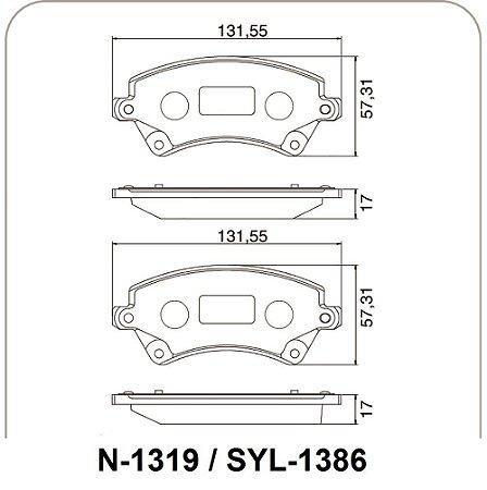 Pastilha De Freio Toyota Corolla