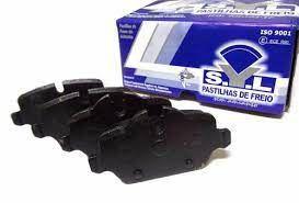 Pastilha De Freio Bmw Serie 1 Hatch 120I Std (E87) 2.0 16V N46B20A / Mini Cooper Hatch S 1.6 16V N16B16A L4
