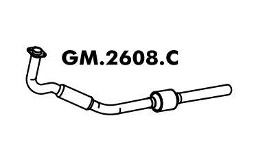 Catalisador Corsa 1.0L 8V Hatch / Sedan 2002 A 08/2005