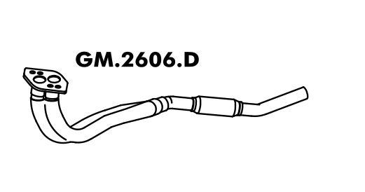 Tuco Do Motor Corsa 1.8L Hatch / Sedan 2002 Em Diante / 1.8 Flex Até 08/2005 Gii