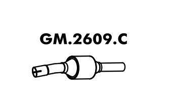 Catalisador Corsa 1.8L Hatch / Sedan 2002 Em Diante / 1.8 Flex Até 08/2005 Gii