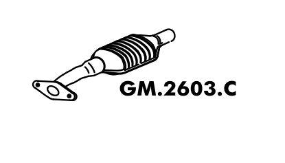 Catalisador Corsa Gsi 95 Até 96