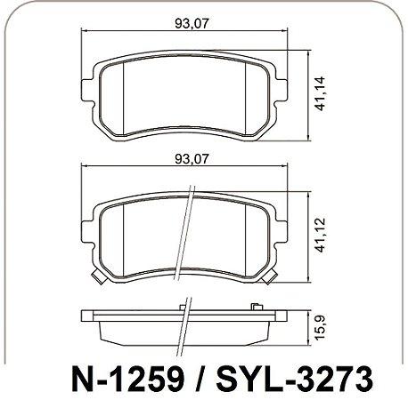 Pastilha De Freio Hyundai I30 / Ix35