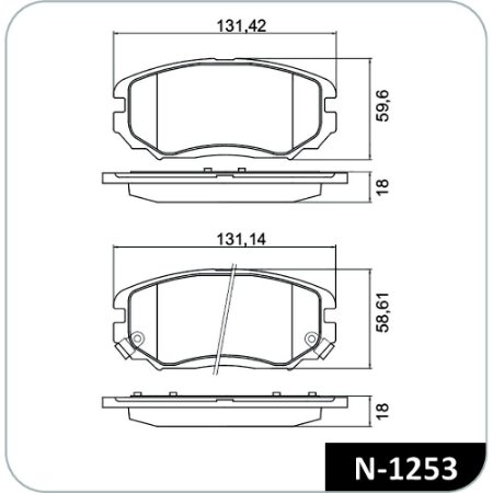 Pastilha De Freio Hyundai Azera Sedan Gls 3.3 24V V6 Gasolina