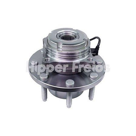 Cubo Roda F250 - Dianteiro 8 Furos C/ Rolamento C/ Abs