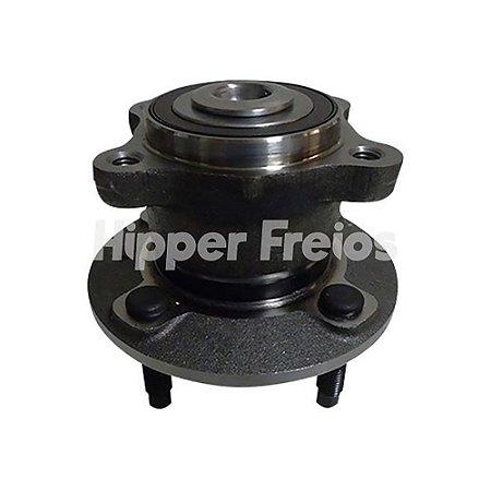 Cubo Roda Cobalt / Onix / Spin - Traseiro 4 Furos C/ Rolamento