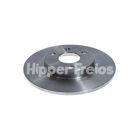 Disco Freio Citroen Ax Dianteiro Solido S/ Cubo 247Mm 3 Furos
