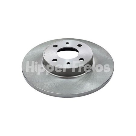 Disco Freio Punto Dianteiro Solido S/ Cubo 257Mm 4 Furos