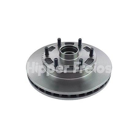 Disco Freio Blazer / S10 Dianteiro Ventilado C/ Cubo 276Mm 6 Furos