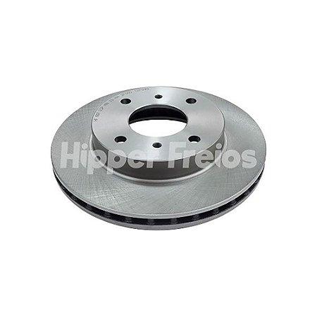 Disco Freio Nissan Sentra / Primera - Dianteiro Ventilado S/ Cubo 256Mm 4 Furos