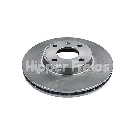 Disco Freio Spin Dianteiro Ventilado S/ Cubo 256Mm 4 Furos