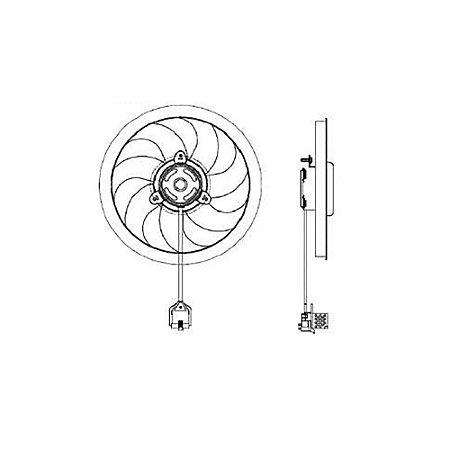 Ventilador Corsa Classic - C/ Ar