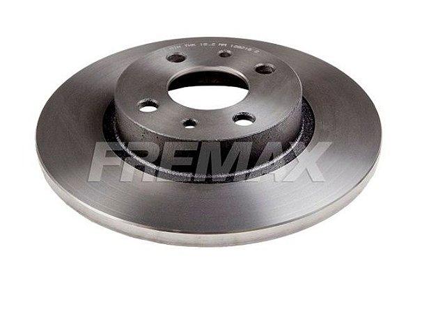 Disco Freio Uno / Palio / Novo Uno Dianteiro Solido S/ Cubo 257Mm 4 Furos Bd3466 Fremax
