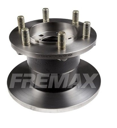 Disco Freio Iveco Daily Dianteiro Solido S/ Cubo 267Mm 6 Furos Bd4528 Fremax