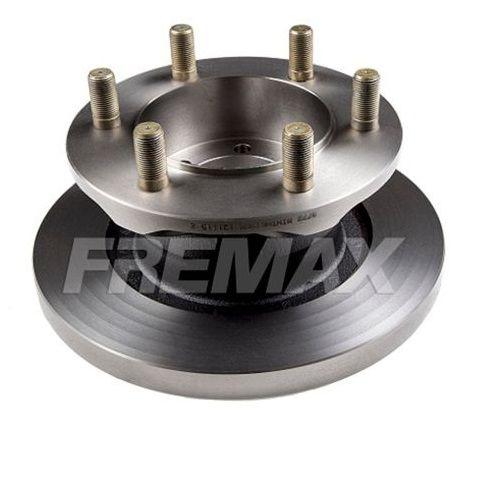 Disco Freio Iveco Daily Dianteiro Solido S/ Cubo 290Mm 6 Furos Bd8772 Fremax