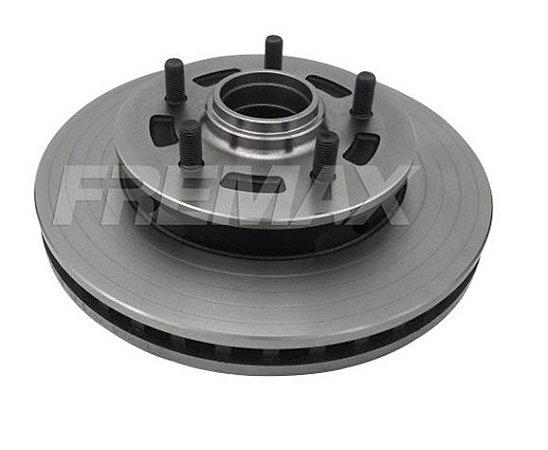 Disco Freio Blazer / S10 Dianteiro Ventilado C/ Cubo 275,5Mm 5 Furos Bd3968 Fremax
