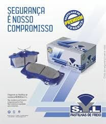 Pastilha Freio Ceramica Hyundai Azera / Sonata Dianteira syl 3260c